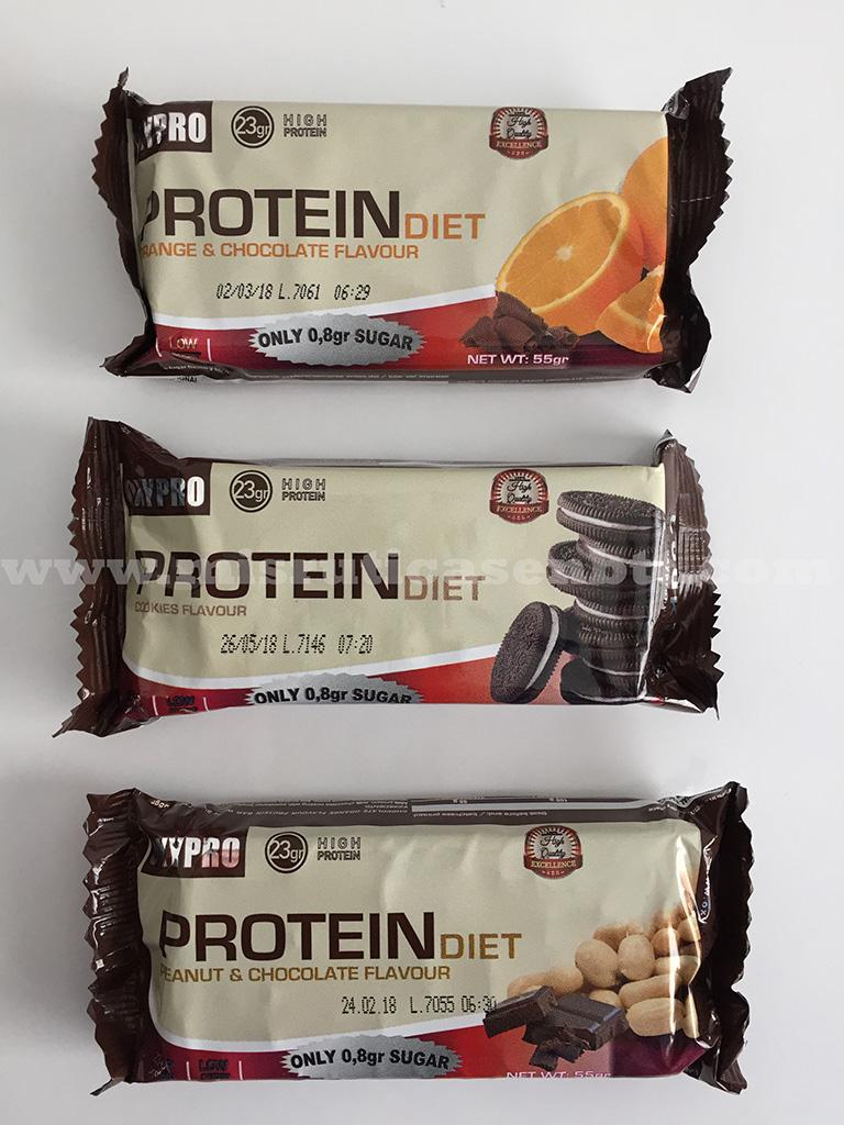 Opinión barrita proteica Oxypro Nutrition
