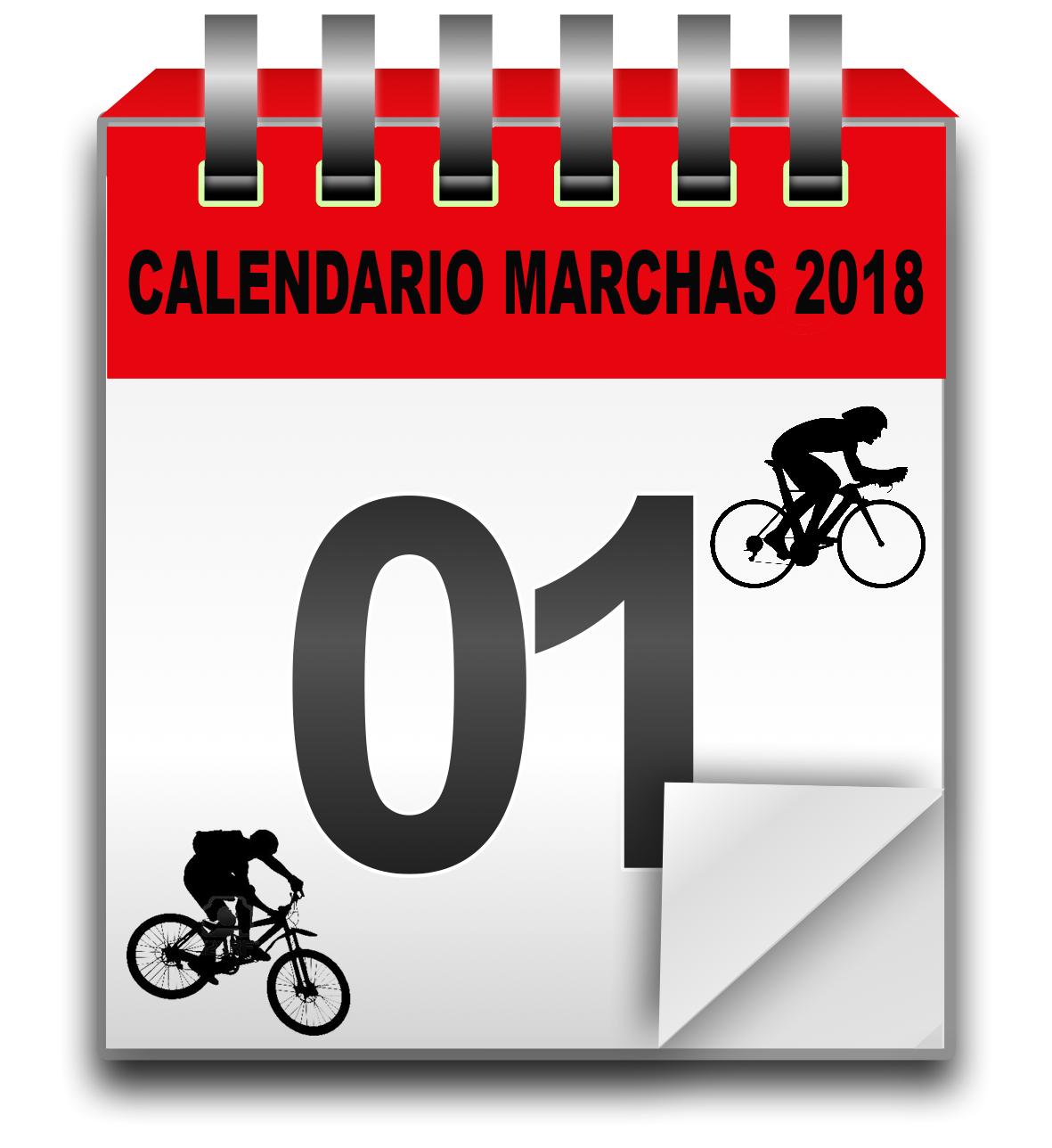 Calendario de marchas 2018