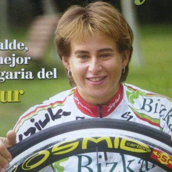 Cristina Alcalde, una vida dedicada al ciclismo