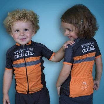 Nuevo maillot infantil «Qué grande ser ciclista»